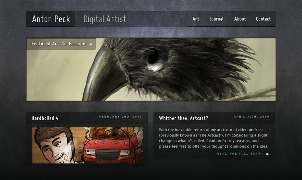 FireShot capture #033 - 'Homepage of Anton Peck, Digital Artist' -  www_antonpeck_com